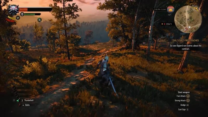 The Witcher 3: Enhanced Edition - Боевая система будет похожа на Dark Souls