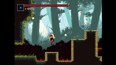 Momodora: Reverie Under the Moonlight (16-бит, Хардкор и Пиксель Арт)