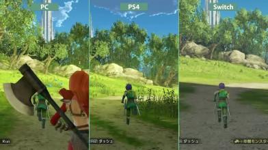 Dragon Quest Heroes 2 - Сравнение PC vs. PS4 vs. Nintendo Switch (Candyland)