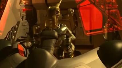 Интро-видео Космические Рейнджеры 0: Доминаторы