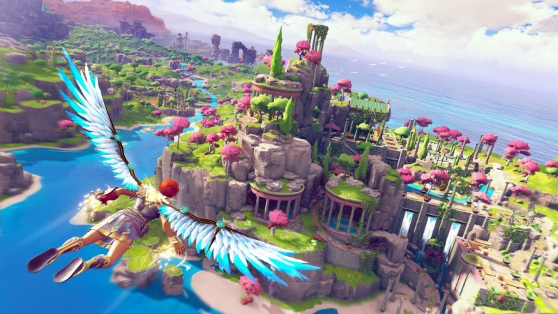 Мир Immortals: Fenyx Rising создаётся как тематический парк развлечений