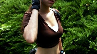 Игровой косплей Лары Крофт / Tomb Raider Lara Croft Cosplay