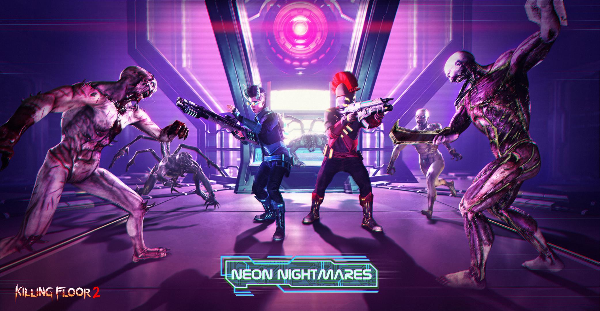 В Killing Floor 2 началось весеннее событие Neon Nightmares