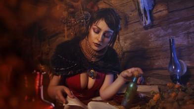 Саша Костюкевич и ее Морриган из Dragon Age: Origins