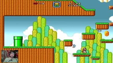 Super Mario Bros. X (v. 1.3) - The New Adventure v.2.0 - 4 уровень - Ёжики без ножиков (на русском)