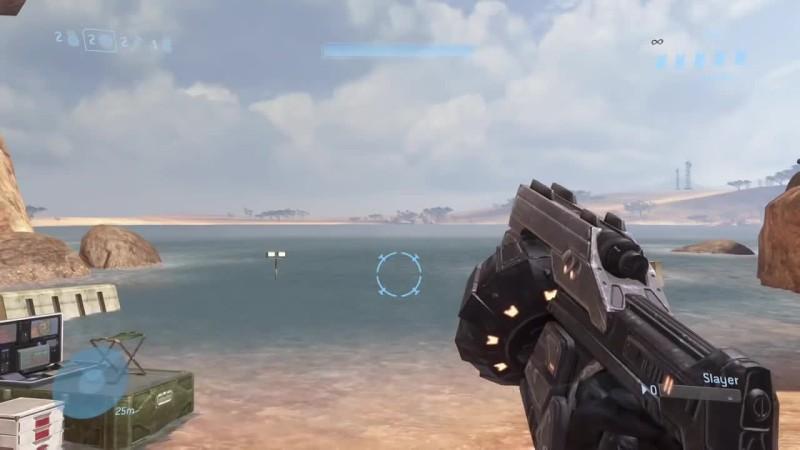 Halo 3 - TMCC - Анимция перезарядки всех видов оружия