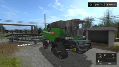 Farming Simulator 17 FENDT L 9490X HARVESTER CRAWLER