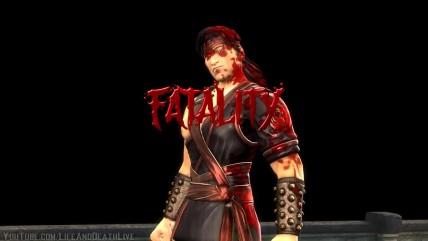 """Mortal Kombat (2011) """"Все персонажи делают в скинах победную стойку Керти Страйкера"""""""