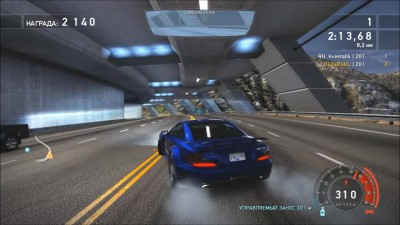 "Need for Speed Hot Pursuit ""Суперкары - Лидер скорости Mercedes SL 65 AMG Black"""