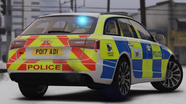 Police Audi A6 Avant 2016