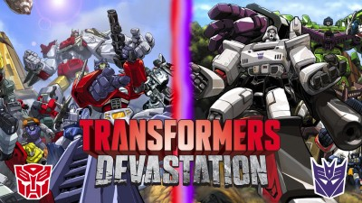 Transformers Devastation Music extended - New York City