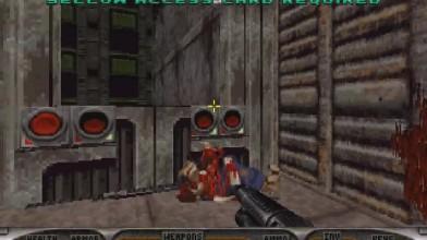 Геймплей порта Duke Nukem: Total Meltdown на PC (мод)