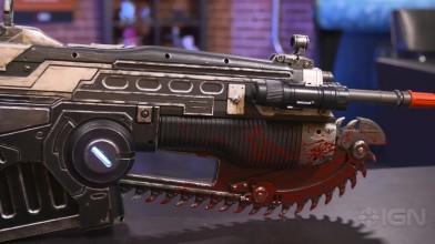 Копия оружия из Gears of War 4 весом 10кг