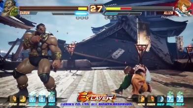 12 минут свежего геймплея Fighting EX Layer