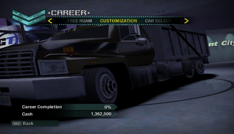 Need for Speed: Carbon: Save Game (99 save. Cars from Most Wanted, Underground, Fast and Furious, etc.)
