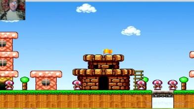 Mario Forever (SMB 3) v.6.0 - 1 уровень - Крутая игра (прохождение на русском)
