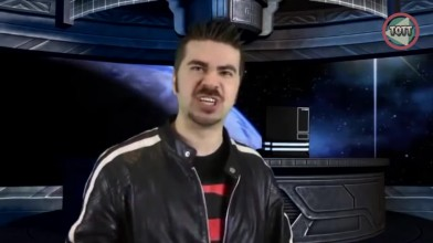 Angry Joe vs Nostalgia Critic - Grudge Match! [Русская озвучка]