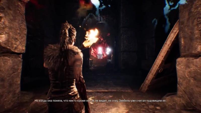 Прохождение Hellblade: Senua's Sacrifice - Часть 10: Гора [RusGameTactics]
