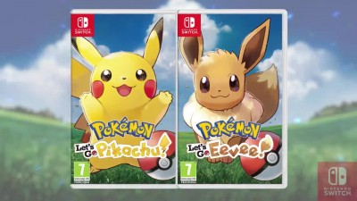 Новый трейлер проектов Pokemon: Let's Go, Pikachu! / Eevee!