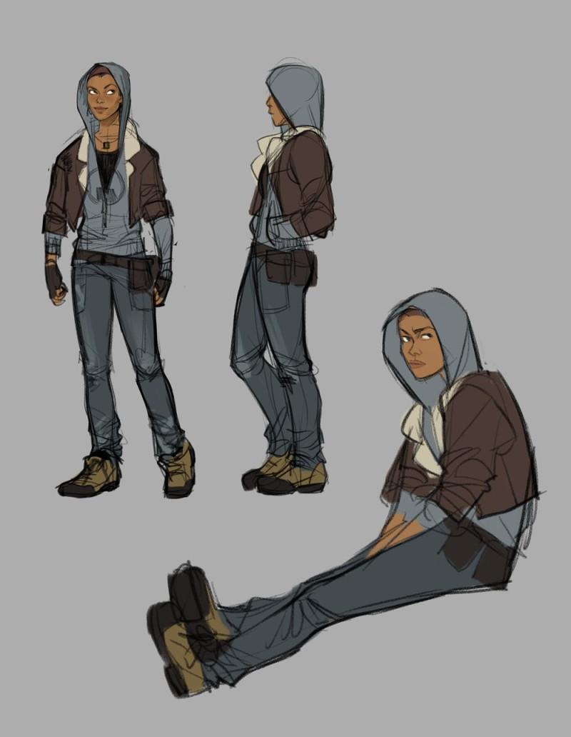 В сети опубликованы новые концепт-арты Half-Life: Alyx