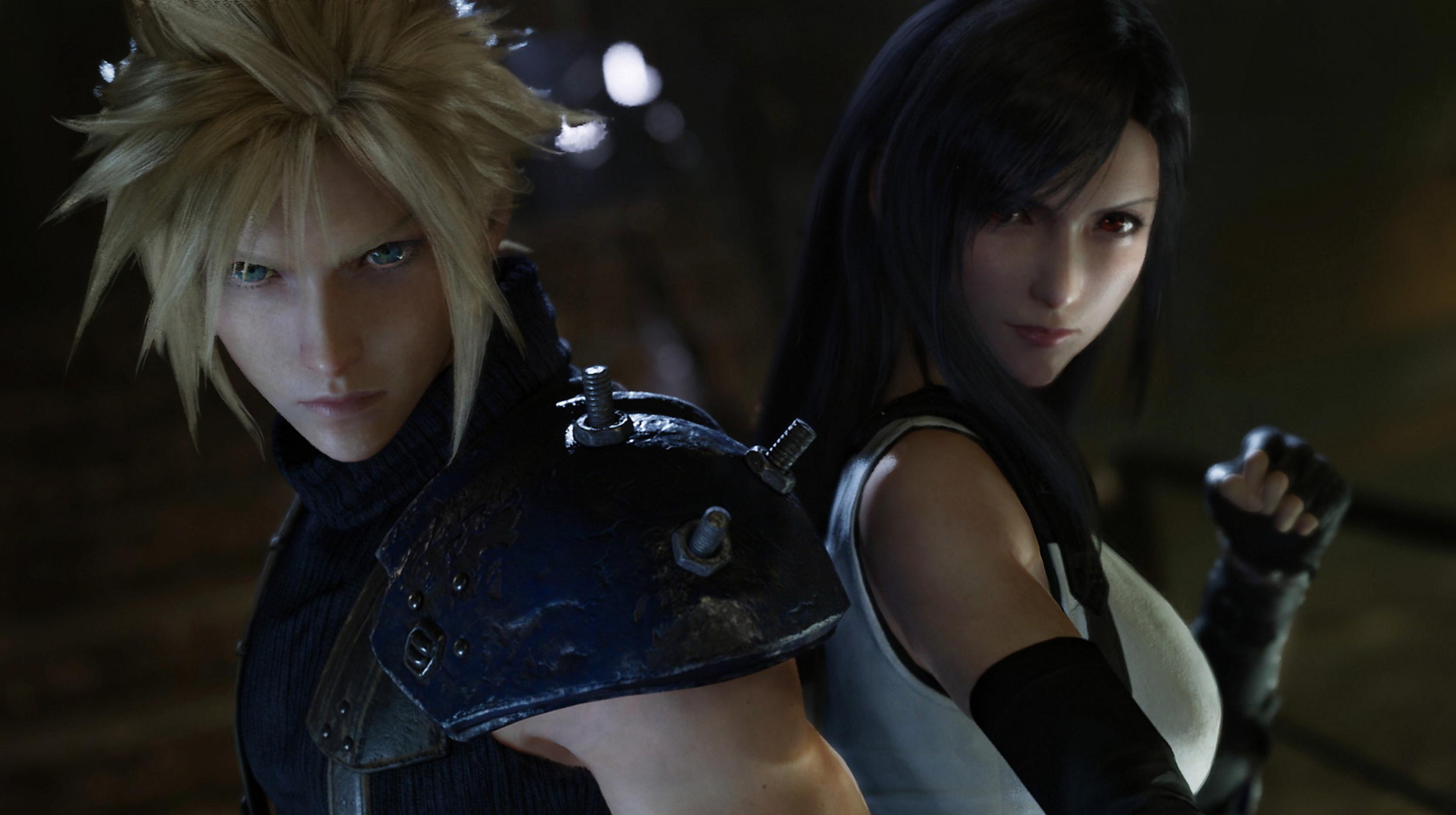 Final Fantasy 7 Remake - самая продаваемая игра апреля 2020 года; игра поставила рекорд франшизы