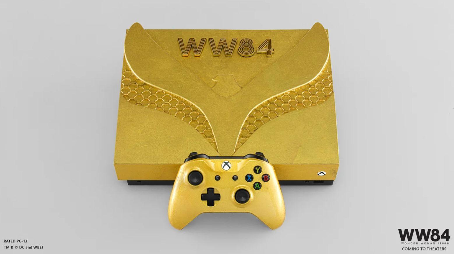 """Милая шёрстка - представлены консоли Xbox One X в стиле фильма """"Чудо-женщина: 1984"""""""