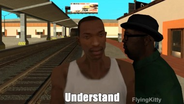GTA:SA Never Gonna Follow That Train