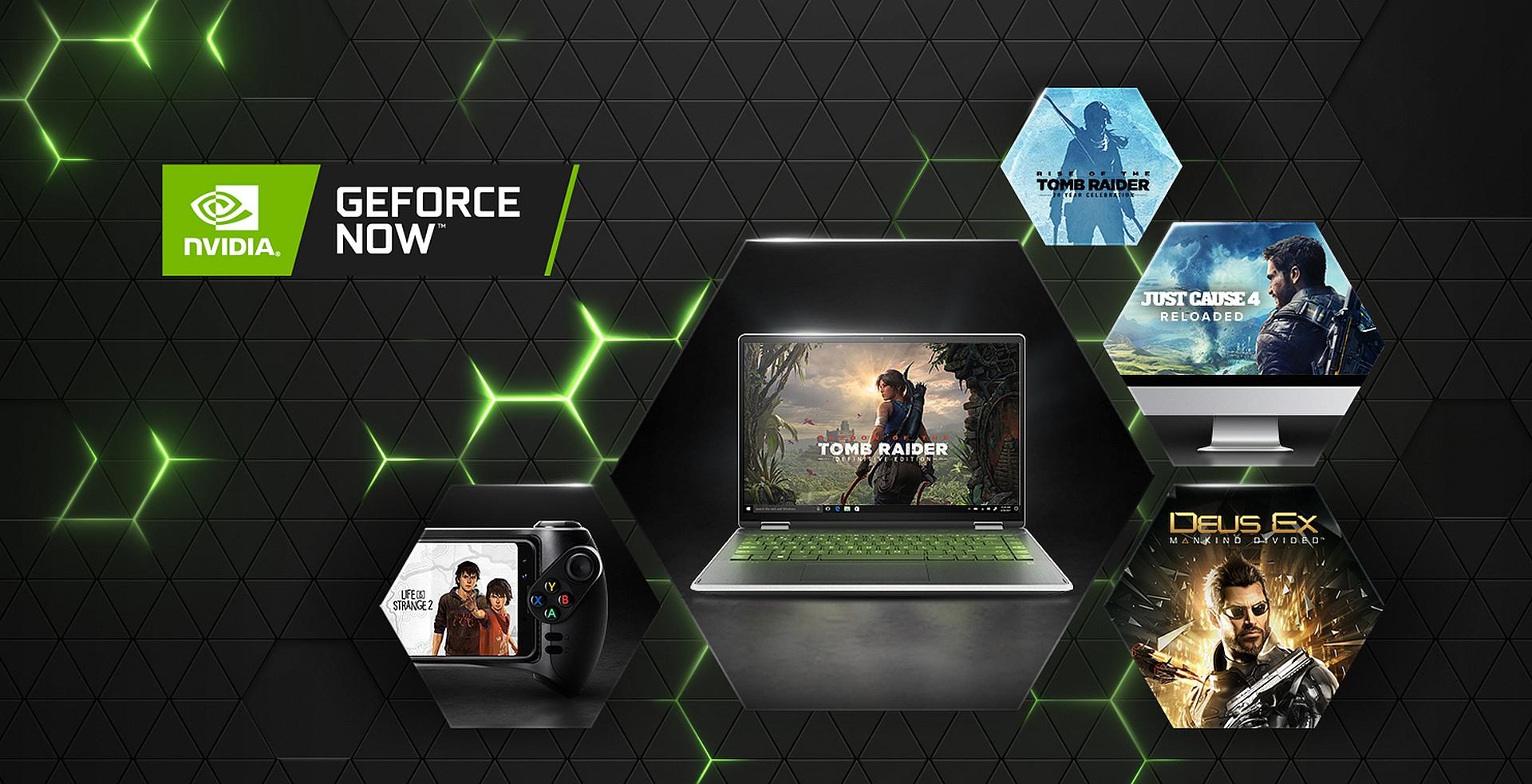 Square Enix вернула 14 своих игр в GeForce NOW