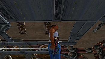 P90 Неглубокая могила из CS GO для GTA San Andreas - скриншот #4