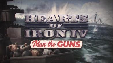 Трейлер с датой релиза DLC Man the Guns для Hearts of Iron 4