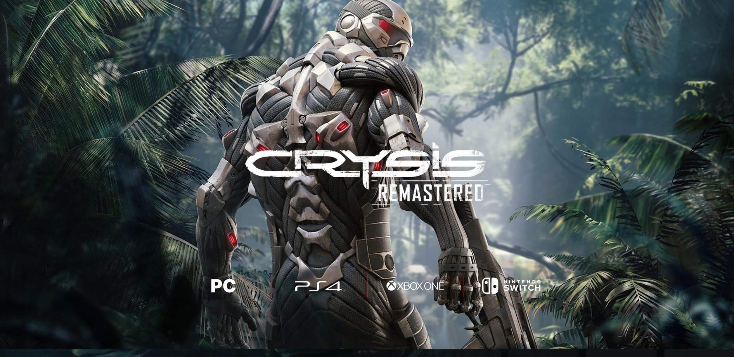 Первый геймплей Crysis Remastered покажут 1 июля