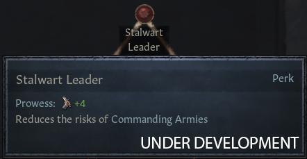 [Удалой лидер — Доблесть: +4, Командование армиями становится менее опасным]