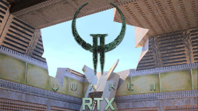 Quake II RTX тест GPU