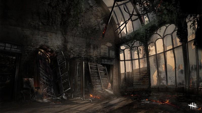 Концепт-арты переработанных карт в Dead by Daylight
