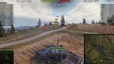 World of Tanks - Малиновка средний танк: на гору ехать?