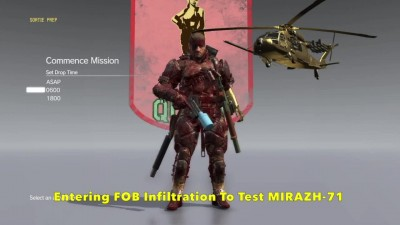 MGS5 Phantom Pain - Best Grenade Launcher MIRAZH-71