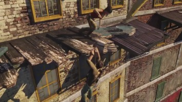 "Uncharted 2: Building Collapse ""Геймплей PS4 - Nathan Drake Collection"""