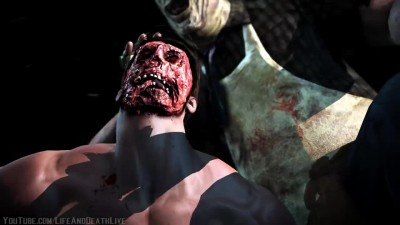 Mortal Kombat XL - Мод Johnny Cage/LeatherFace Mesh Swap Intro, X Ray, Victory Pose, Fatalities