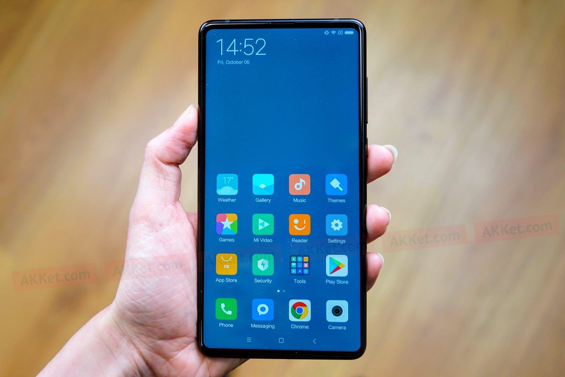 Вглобальной web-сети появились настоящие фотографии телефона Xiaomi MiMix 2s