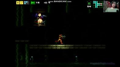 Another Metroid 2 Remake (Project AM2R) - 5. Дерзота в темноте (прохождение на русском)
