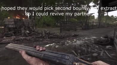 Укокожили 8 охотников с девушкой в Hunt: Showdown