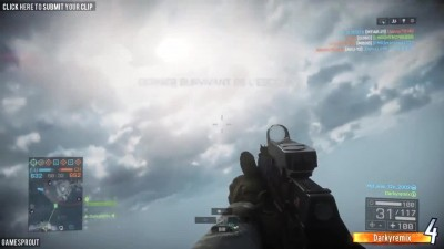 Battlefield 4 Random Moments #87 (Painful KO's, Flying Hovercraft!)
