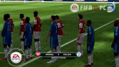 "FIFA 11 ""Arsenal vs Chelsea"""