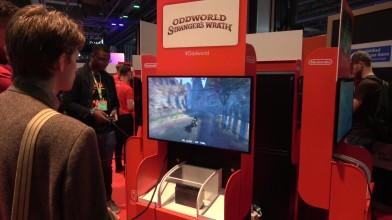 Компания Nintendo привезла на британскую игровую выставку EGX 2018 играбельную демо-версию экшен-адвенчуры Oddworld: Stranger's Wrath, а посетители меропр