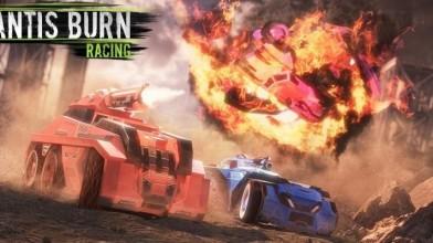 Доселе мирная Mantis Burn Racing получила обновление Battle Cars с оружием и бронёй