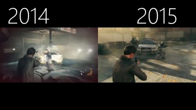 "Quantum Break ""Graphics Evolution 2013 - 2015"""