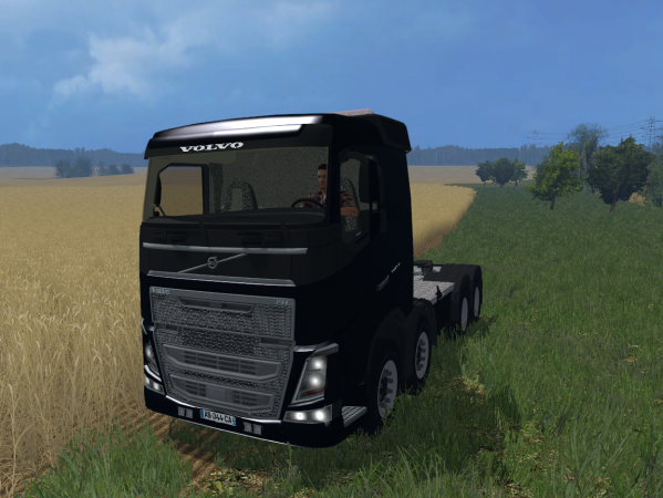 "Farming Simulator 15 ""Тягач Volvo FH 8x8 v 1.0"""
