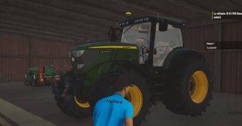 Трактор John Deere 6170