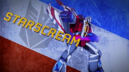 "Transformers: Devastation ""трейлер босса ""Starscream"""