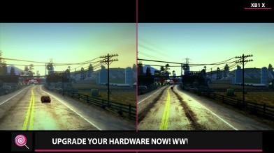 Burnout Paradise - Original PS3 (2008) vs. Xbox One X (2018) Сравнение графики (Candyland)